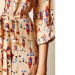Anthropologie Dresses - Anthropologie Dolan Wanderlust Aztec Print Dress